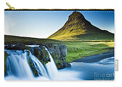 Kirkjufell Mountain Carry-all Pouch by Gunnar Orn Arnason