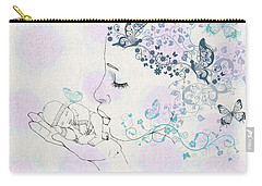 Kiss To A New Born Carry-all Pouch