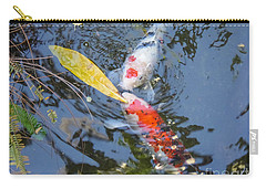 Kissin' Koi Carry-all Pouch by HEVi FineArt
