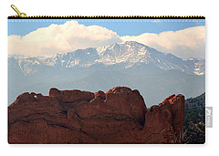 Kissing Camels Against Pikes Peak Carry-all Pouch