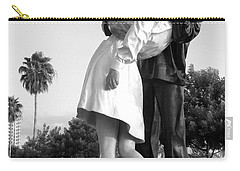 Kissing Sailor And Nurse Carry-all Pouch by Christiane Schulze Art And Photography