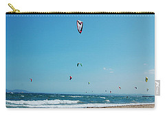 Kitesurf Lovers Carry-all Pouch