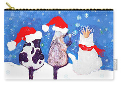 Kitty Christmas Carry-all Pouch