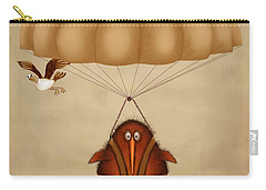 Kiwi Bird Kev Parachuting Carry-all Pouch