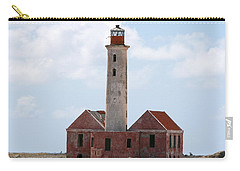 Carry-all Pouch featuring the photograph Klein Curacao Lighthouse by David Millenheft