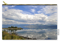 Carry-all Pouch featuring the photograph Kluane Reflections by Cathy Mahnke