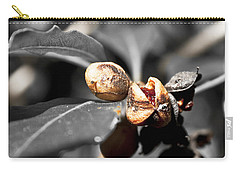 Carry-all Pouch featuring the photograph Knew Seeds Of Complentation by Miroslava Jurcik