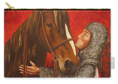 Knight And Horse Carry-all Pouch