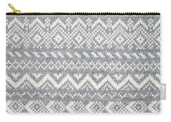 Knit Pattern Abstract Carry-all Pouch