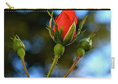 Knockout Rosebud Carry-all Pouch