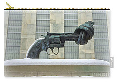 Knotted Gun Sculpture At The United Nations Carry-all Pouch