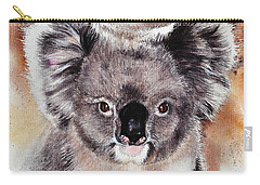 Koala  Carry-all Pouch by Sandra Phryce-Jones