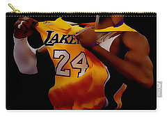 Kobe Bryant Sweet Victory Carry-all Pouch by Brian Reaves