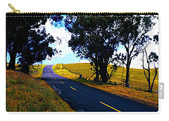 Carry-all Pouch featuring the photograph Kohala Mountain Road  Big Island Hawaii  by Tom Jelen