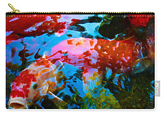 Koi Fish Carry-all Pouch by Joan Reese