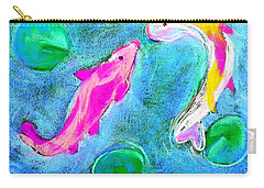 Kissing Kois Carry-all Pouch