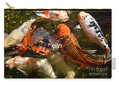 Koi Rising Carry-all Pouch