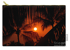 Kona Sunset Carry-all Pouch by Bob Hislop