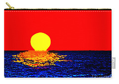 Kona Sunset Pop Art Carry-all Pouch
