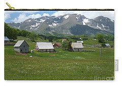 Carry-all Pouch featuring the photograph Kovcica - Durmitor National Park - Montenegro by Phil Banks