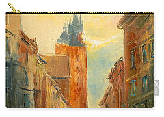 Krakow Florianska Street Carry-all Pouch