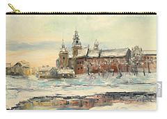Krakow - Wawel Castle Winter Carry-all Pouch