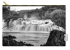 Krka Waterfalls Bw Carry-all Pouch
