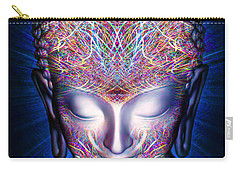 Carry-all Pouch featuring the painting Kundalini Awakening  by Jalai Lama