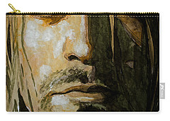 Kurt Cobain Carry-all Pouch by Laur Iduc