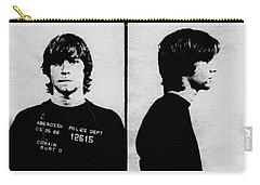 Kurt Cobain Mugshot Carry-all Pouch