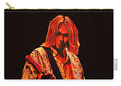 Kurt Cobain Painting Carry-all Pouch