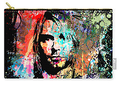 Kurt Cobain Portrait Carry-all Pouch
