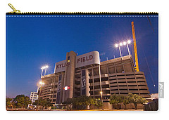 Kyle Field Blue Hour Carry-all Pouch by Linda Unger