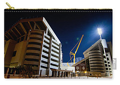Kyle Field Construction Carry-all Pouch by Linda Unger