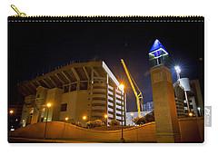Kyle Field Carry-all Pouch by Linda Unger