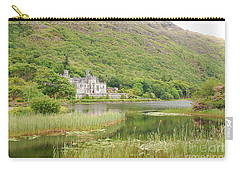 Carry-all Pouch featuring the photograph Kylemore Abbey 1 by Mary Carol Story