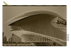 Carry-all Pouch featuring the photograph L' Hemisferic - Valencia by Juergen Weiss