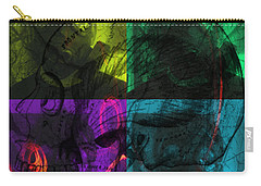 Carry-all Pouch featuring the photograph L S D  Part One by Sir Josef - Social Critic - ART