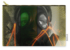 Carry-all Pouch featuring the photograph L S D  Part Three by Sir Josef - Social Critic - ART