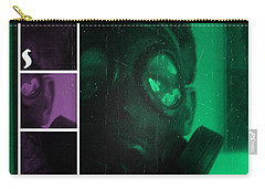 Carry-all Pouch featuring the photograph L S D  Part Two by Sir Josef - Social Critic - ART