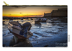 La Caleta Beach Cadiz Spain Carry-all Pouch