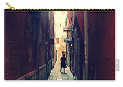 Carry-all Pouch featuring the photograph La Cameriera  by Micki Findlay