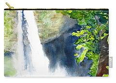 La Fortuna Waterfall Carry-all Pouch by Carlin Blahnik