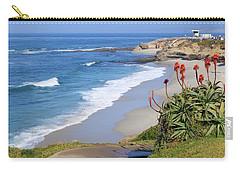 La Jolla Beach Carry-all Pouch