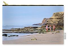 La Jolla Beach Walk Carry-all Pouch