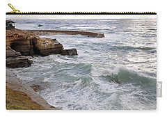 La Jolla Ca Carry-all Pouch by Gandz Photography