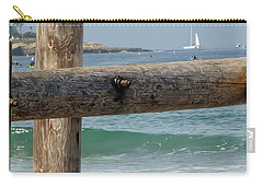 Carry-all Pouch featuring the photograph La Jolla Scene by Susan Garren