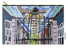Carry-all Pouch featuring the painting La La Land  by Leslie Byrne