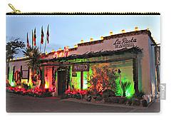 Carry-all Pouch featuring the photograph La Posta De Mesilla New Mexico by Barbara Chichester