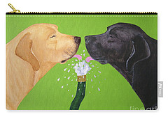 Labs Like To Share 2 Carry-all Pouch